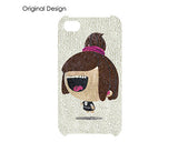Doll Girl Bling Crystal iPhone 7 Plus Cases