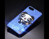 Dancing Panda Bling Crystal iPhone 7 Plus Cases