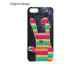 Rainbow Rabbit Bling Crystal Galaxy S7 Phone Cases
