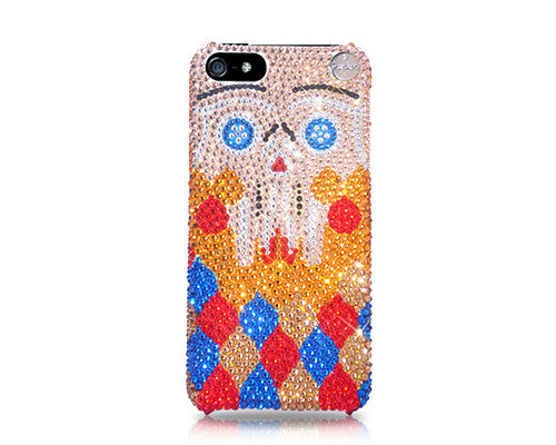 Sugar Skull Bling Crystal Galaxy S7 Phone Cases