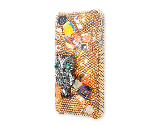Owl Bling Crystal iPhone 6 Cases