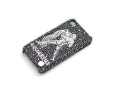 Aquarius Bling Crystal iPhone 7 Cases - Black