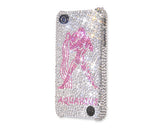 Aquarius Bling Crystal iPhone 7 Cases - Silver