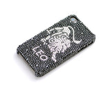 Leo Bling Crystal iPhone 6S Plus Cases - Black