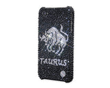 Taurus Bling Crystal Galaxy Note 5 Phone Cases - Black