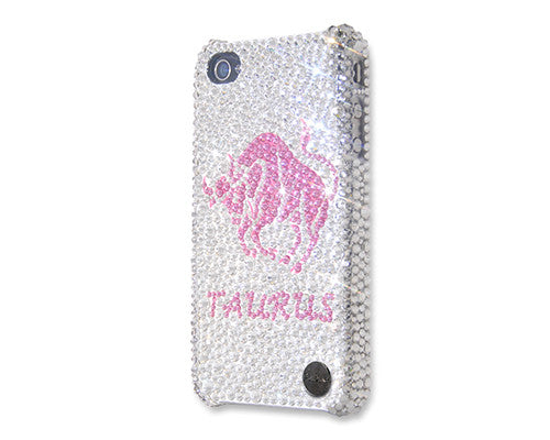Taurus Bling Crystal Galaxy Note 5 Phone Cases - Silver