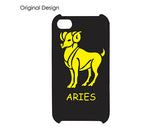 Aries Bling Crystal iPhone 7 Cases - Black Gold