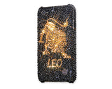 Leo Bling Crystal iPhone 6S Plus Cases - Black Gold