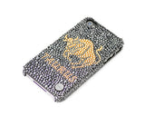 Taurus Bling Crystal Galaxy Note 5 Phone Cases - Black Gold