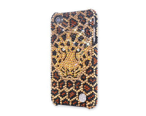 Leopard Face Bling Crystal iPhone 6S Plus Cases