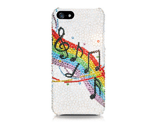 Swinging Melody Bling Crystal Galaxy Note 5 Phone Cases