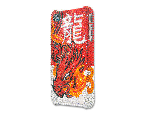 Chinese Zodiacs Dragon Bling Crystal iPhone 7 Cases