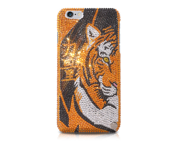 Tiger Power Bling Crystal Galaxy Note 5 Phone Cases