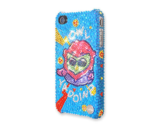 Pop Owl Bling Crystal iPhone 6 Cases