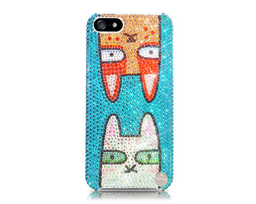Twins Catty Bling Crystal Galaxy Note 5 Phone Cases