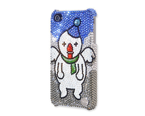 Christmas Angel Snowman Bling Crystal iPhone 7 Cases
