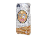 Yummy Gingerbread Man Christmas Bling Crystal Galaxy Note 5 Phone Cases
