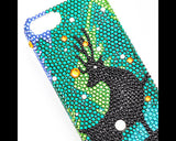 Fluorescent Rudolf Bling Swarovski Crystal iPhone 6S Plus Cases