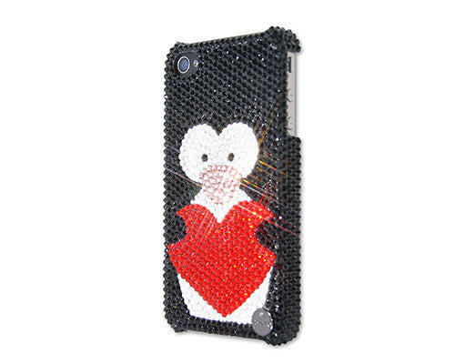 Penguin In Love Bling Crystal iPhone 6 Cases