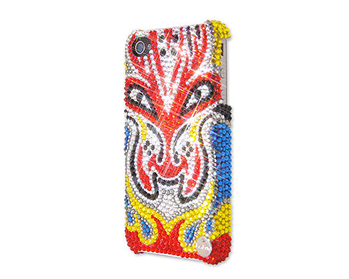 Dragon Opera Mask Bling Crystal iPhone 7 Plus Cases