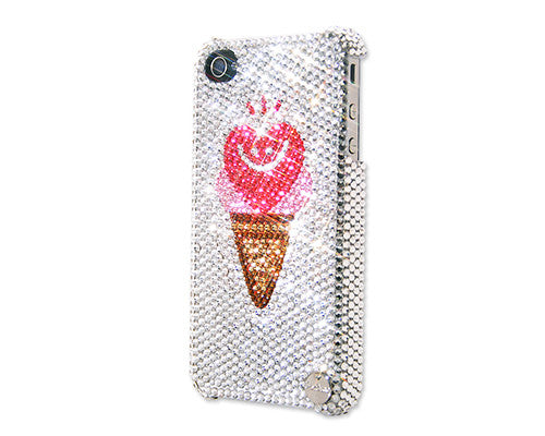 Ice Cream Love Bling Crystal iPhone 6S Plus Cases