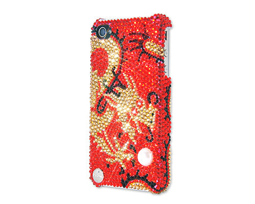 Dragon Pearl Bling Crystal iPhone 7 Plus Cases