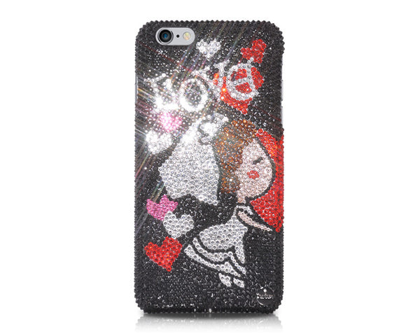 Bride's Love Bling Crystal iPhone 7 Cases