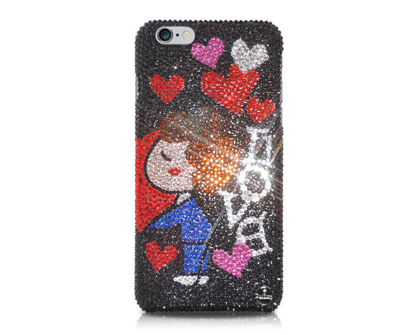 Bridegroom's Love Bling Crystal iPhone 7 Cases