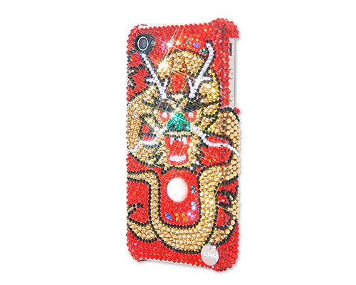 Power Of Dragon Bling Crystal Galaxy S7 Phone Cases