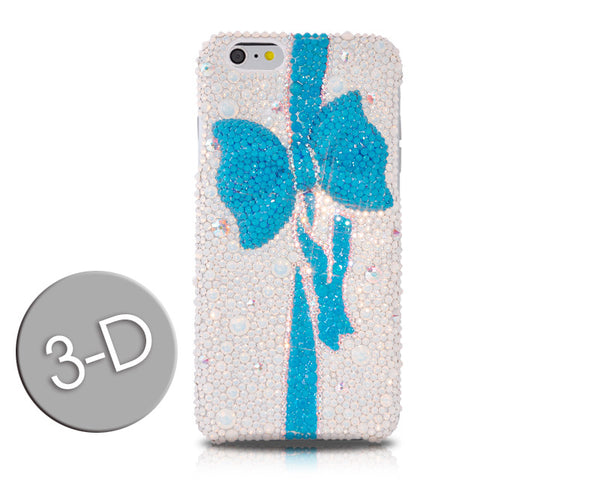 Blue Ribbon Bling Swarovski Crystal iPhone 7 Cases