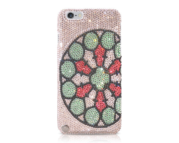 Floral Whorl Crystal iPhone 6S Plus Cases