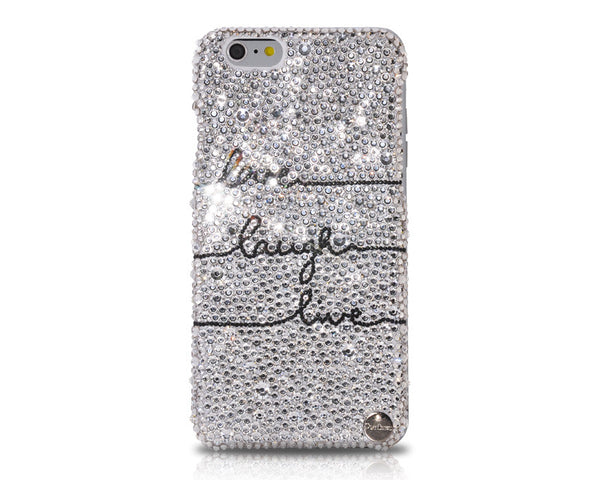 Life Attitude Bling Swarovski Crystal iPhone 6S Plus Cases