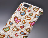 Multi-heart Bling Swarovski Crystal iPhone 6 Cases