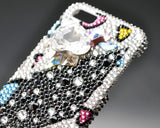 Leopard Cross Bling Swarovski Crystal iPhone 6S Plus Cases