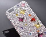Fancy Butterfly Bling Crystal iPhone 7 Plus Cases