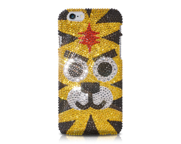 Chinese Zodiac Series Crystal iPhone 7 Cases - Tiger