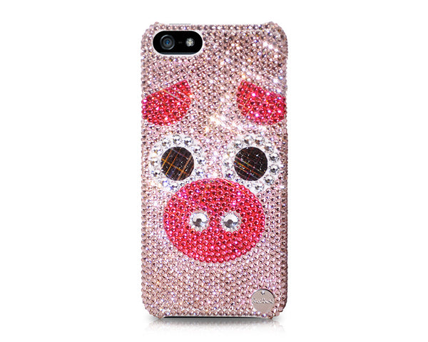 Chinese Zodiac Series Crystal iPhone 7 Cases - Pig