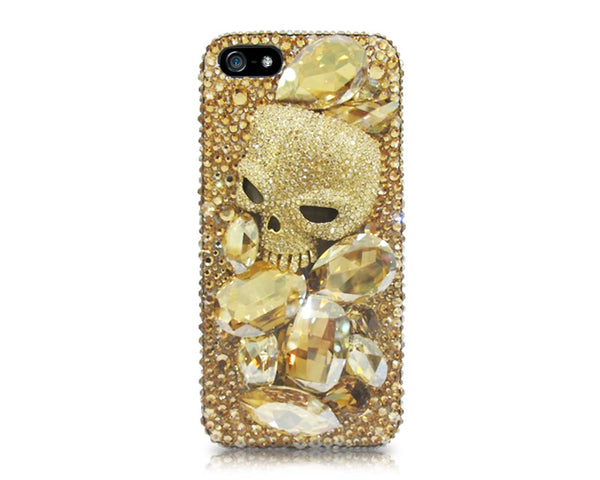 Dracula Skull Bling Crystal iPhone 7 Plus Cases
