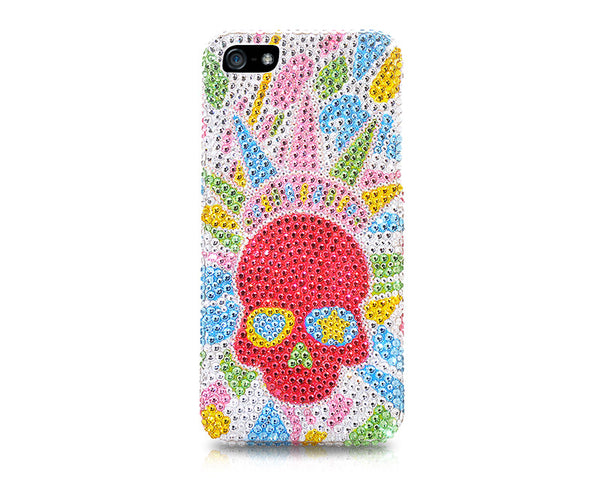 Splendent Skull Bling Swarovski Crystal Galaxy S7 Phone Cases