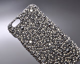 Anomaly Bling Swarovski Crystal iPhone 7 Cases - Silver and Black