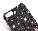 Color Dotted Bling Swarovski Crystal iPhone 7 Plus Cases