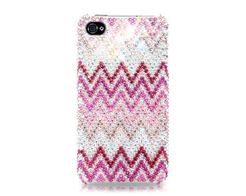 Wave Bling Crystal Galaxy Note 5 Phone Cases - Pink