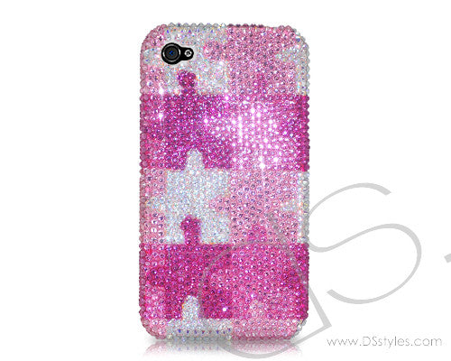 Puzzle Bling Crystal Galaxy S7 Phone Cases
