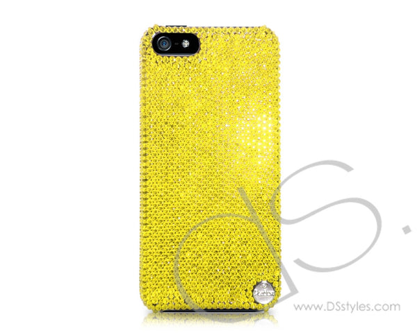 Classic Swarovski Crystal iPhone 7 Plus Cases Yellow
