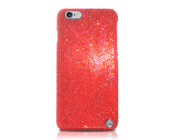 Classic Swarovski Crystal iPhone 7 Plus Cases - Red