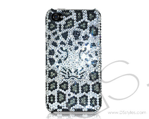 Leopard Bling Crystal iPhone 6S Plus Cases