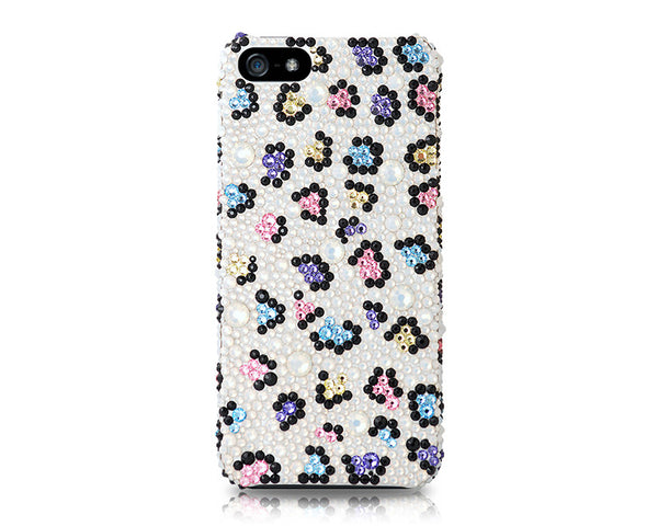 Shatter Floral Bling Crystal Galaxy S7 Phone Cases