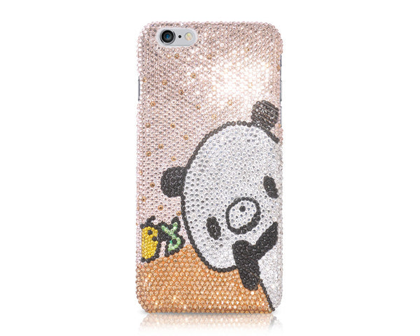 Panda Bling Crystal iPhone 6 Cases