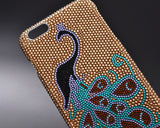 Peacock Bling Crystal iPhone 6 Cases