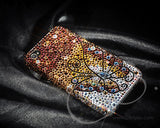 Butterfly Fantasy Bling Crystal iPhone 7 Cases - Gold